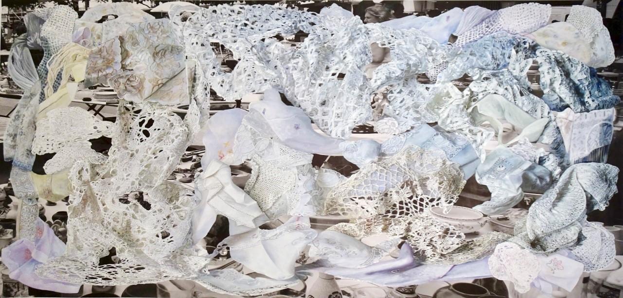 Eva Rosenstiel Place Weiss 2020, 120 x 250