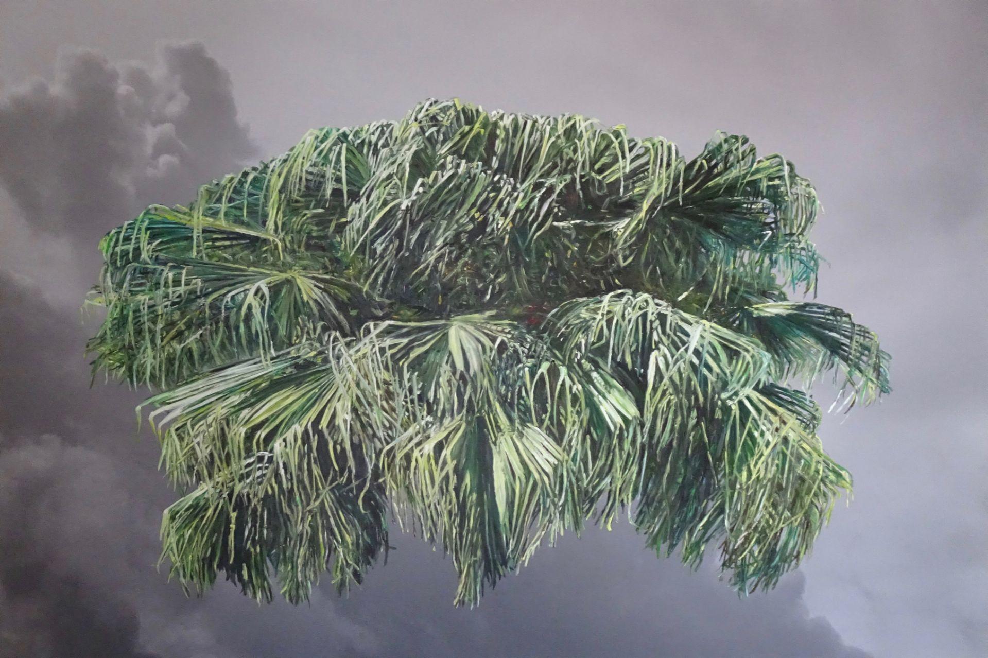Eva Rosenstiel Cloud Bermuda 2019, 60 x 90 cm