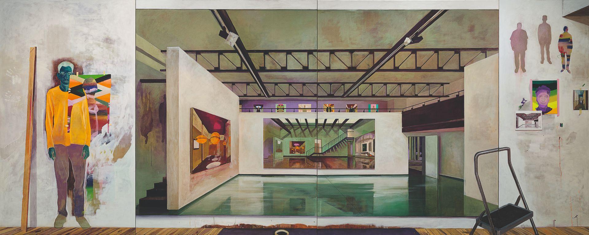 Martin Kasper, Sur les Murs, 260 x 650 cm