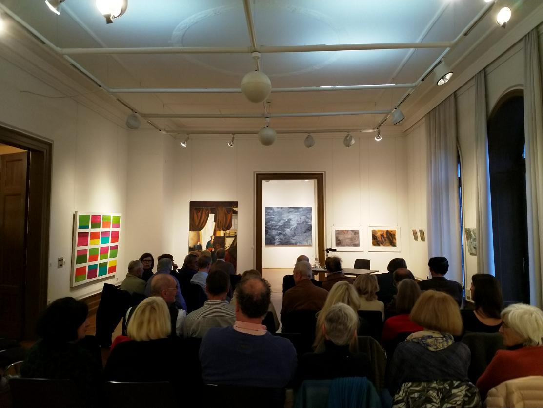 Ausstellung von Alexander Schönfeld mit Lesung von Arnold Stadler