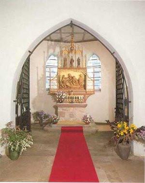 Innenraum der Falkensteiner Kapelle