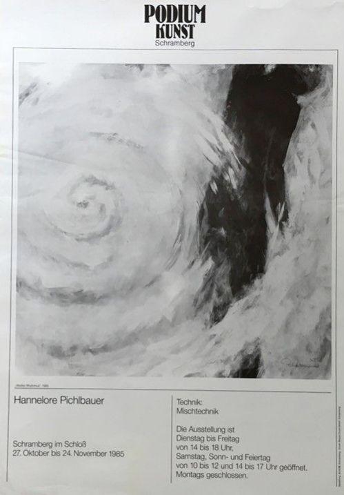 Plakat Ausstellung Hannelore Pichlbauer
