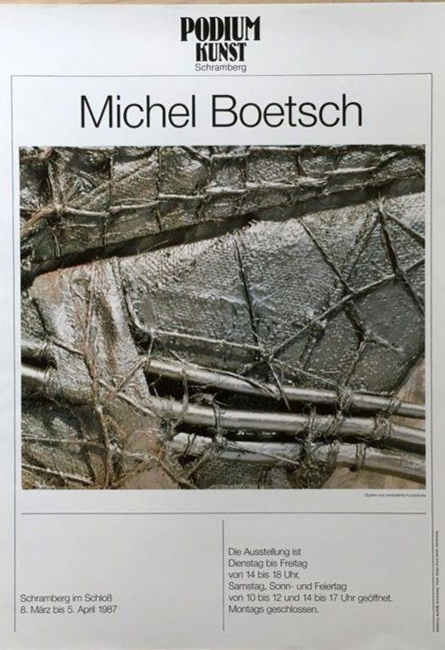 Plakat Ausstellung Michel Boetsch
