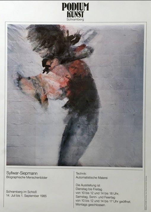 Plakat Ausstellung Werner Siepmann
