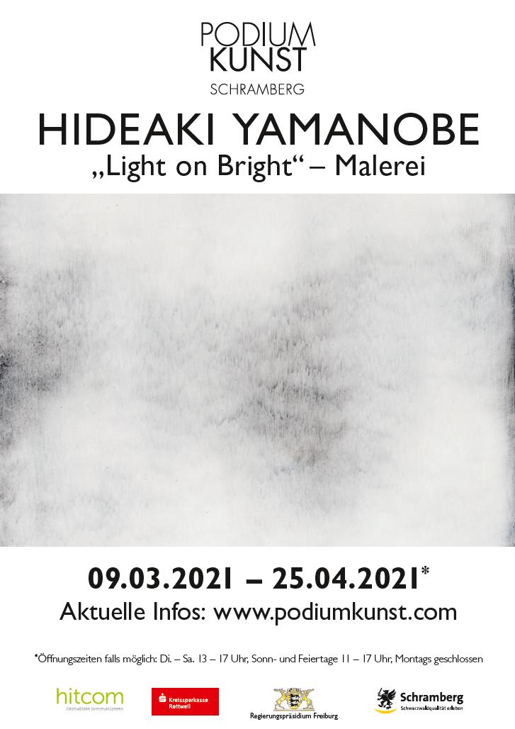 Plakat Ausstellung Hideaki Yamanobe