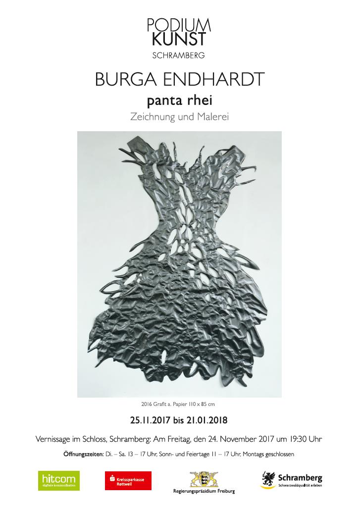 Plakat Ausstellung Burga Endhardt
