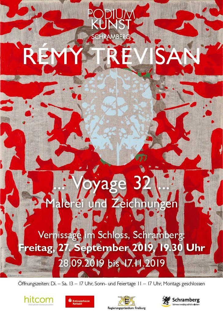 Plakat Ausstellung Rémy Trevisan