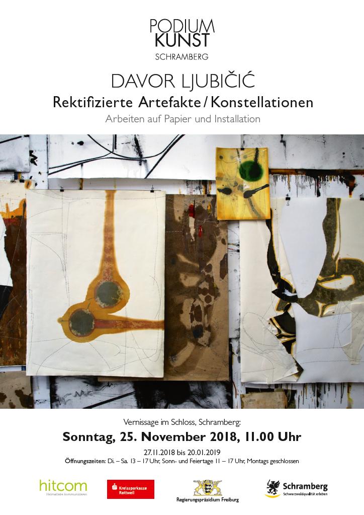 Plakat Ausstellung Davor Ljubicic
