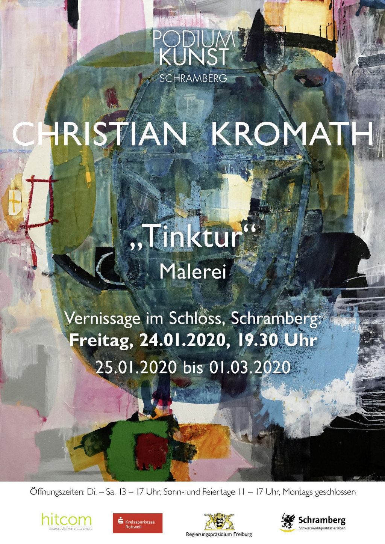 Plakat Ausstellung Christian Kromath