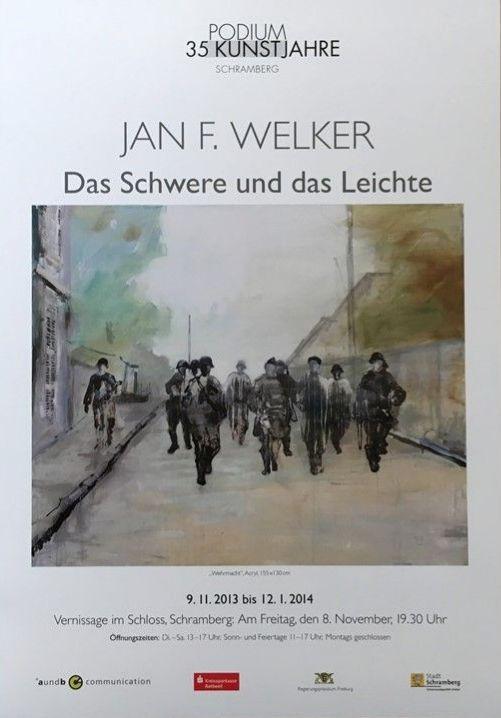Plakat Jan F. Welker
