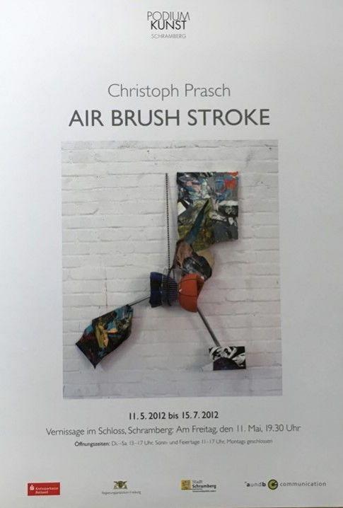 Plakat Ausstellung Christoph Prasch 2012
