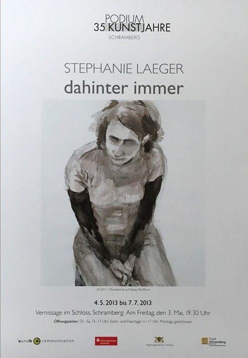 Plakat Stephanie Läger