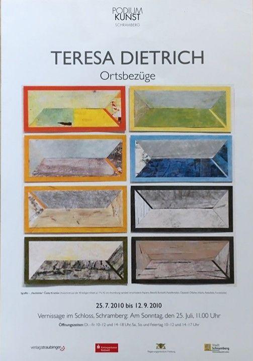 Plakat Teresa Dietrich