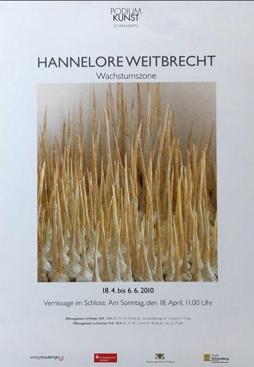 Plakat Hannelore Weitbrecht