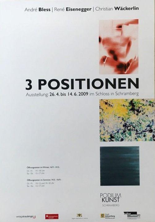 Plakat 3 Positionen