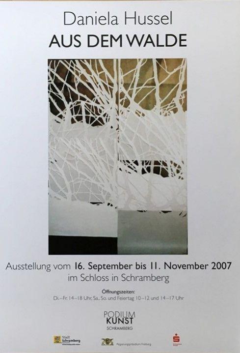 Plakat Daniela Hussel