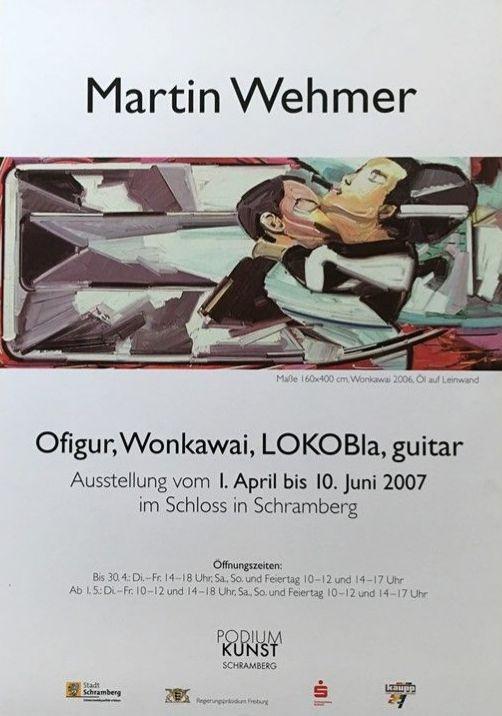 Plakat martin Wehmer