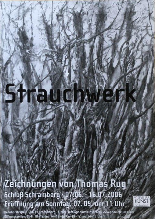 Plakat Thomas Rug