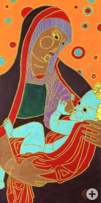 Eva Bur am Orde: Maria mit Kind